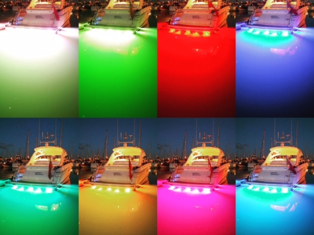 Bluefin Led colour changing lights