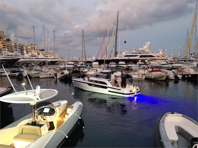 Pascoe tender with Bluefin's in Monaco